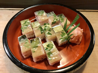 あばらや - さば寿司ハーフ