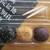 西国土産 鍵屋 - 料理写真:名代おはぎ 180円(税込)、3つの味を一個づつ