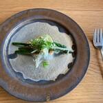 エル・バウ・デコラシオン - 素敵なアンティークなお皿!これだけで絵になります d(^_^o)