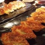 13723252 - 焼き餃子「柔」 美味しすぎて二人前追加した!