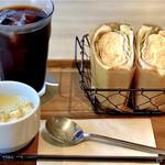 サーティーナインカフェ - ふわふわ卵サンド
