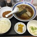 三松 - ラーメン定食