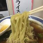 三松 - ラーメンの麺