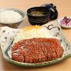 名古屋名物 みそかつ 矢場とん - 料理写真:2極上リブロース定食