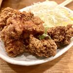 もつ焼 よし田 - タッキ豚唐揚げ 380円ーフライドチキン 380円