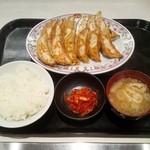 餃子の王将 - 餃子定食(680円)