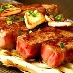 鉄板焼 黒田屋 - 黒毛和牛雌牛ステーキ カウンターでダイナミックに焼き上げます