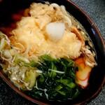 わらびや - 料理写真:『天ぷらうどん』(税込み800円)