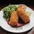 イノダコーヒ - 料理写真:蟹クリームコロッケプレート