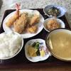 徳市 - 料理写真:フライ定食と納豆