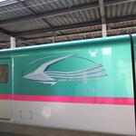 Guddotaimuzukafe - 新幹線やまびこ(2020年9月)
