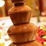 京都北山ダイニング - 【チョコレートファウンテン】 大人気!溶けたチョコが流れる泉は、心まで潤してくれます