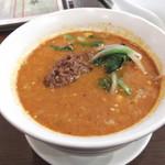 蓮華 - 坦々麺も本格的で美味い。