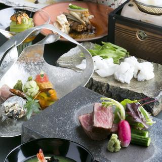 接待、大切な会食で。役付のお客様も多いので安心。料理も納得。