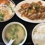 中華料理 大福 - 日替わり(油淋鶏) 650円