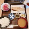 さわら - 料理写真:刺身盛ととろさば塩麴焼セット