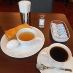 喫茶室ルノアール - モーニングAセット