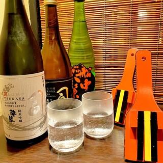 高知県産のお酒多数ご用意!