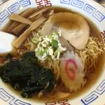東武ラーメン - 見た目で美味しい