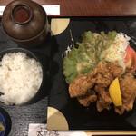有馬温泉 太閤の湯 湯の山街道 - 唐揚げ定食
