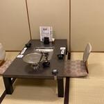 137259593 - 黒豚しゃぶしゃぶコースは二階の座敷で。コロナ対策も万全。