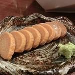 炭鮮 - 山芋の醤油漬け