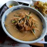 甘 - 「キムチバラ甘麺」(820円)。このお店の定番でありボクの定番でもあります。