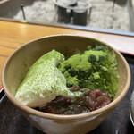 三星園 上林三入本店 - 料理写真:元祖宇治金時