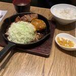 東京トンテキ - バグトン定食 ハンバーグも美味しかった!さすが人気No.2