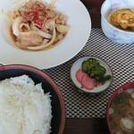 ダイニング ニュー安滝 - 料理写真:豚バラ定食