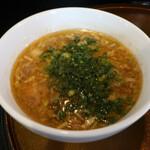 信濃神麺 烈士洵名 - つけ麺