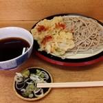 13727478 - あつもりそば、天ぷら付き。360円。