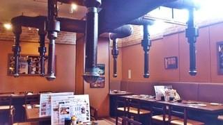 焼肉×食べ放題 南大沢 にひゃくてん - 平日の午後2時過ぎ。さすがに空いてます