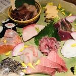目黒川魚金 - お刺身盛り合わせ