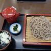 道の駅「信州蔦木宿」てのひら館 - 料理写真:八ヶ岳荒挽きそば