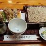 長命寺蕎麦 豊島 - 料理写真:天せいろ