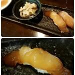 137285442 - 前菜:ジーマミー豆腐、スンシーイリチー、石垣島鮮魚の漬け寿司
