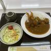 玉川温泉食堂 - 料理写真:日替わりランチ エビフライカレー