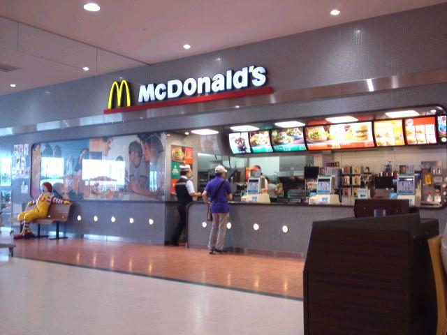 マクドナルド おのだサンパーク店