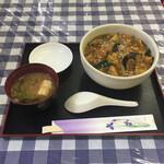 中華料理 ボーノ - 料理写真:麻婆ナス丼