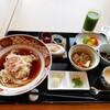 カフェ・イン・ザ・パーク - 料理写真:富山の氷見うどんセット(*´艸`)