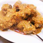 鶏肉の串焼き 2本