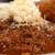 マサラカリス - カリスカレーM(200g)、細切りチーズ、ミニ豚ヒレカツ追加