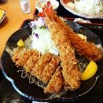 13730067 - 宝山豚ロース海老定食(1764円) アップ