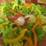 Cafe Capable - トマトとチキンのガレット