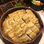 137300112 - うらうめ(ひつまぶし)塩焼き ご飯も大で