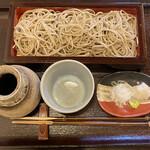 蕎茶亭まるやま - せいろ(丸抜き)