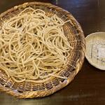 蕎茶亭まるやま - 超粗挽き(丸抜き)、粗塩