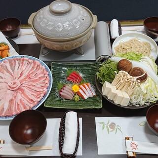 京丹波高原豚使用の贅沢なコース!
