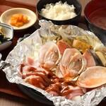 【季節のお奨め】秋鮭と白貝のちゃんちゃん焼き定食
